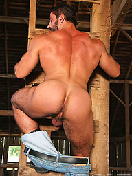 Carlo Masi shows his cock