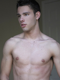 Trey posing naked