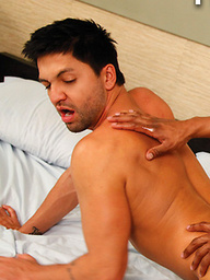 Hot and Versatile Hunks Colin Black and Dominic Pacifico Flip-Fuck
