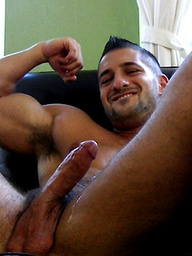 Straight Muscular Hunk, Eddie Cambio, Behind The Scenes
