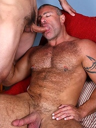 Muscle men Trace Michaels and Spencer Pierce