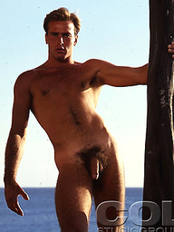 Kip Horn naked outdoors