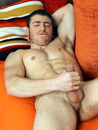 Vinny Dias has an incredible muscular body, is absolutely adorable, and jerks his rock hard cock like nobody else.