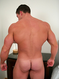 Tall, Muscular Connell - Massive Shoulders & Equally Big Uncut One!