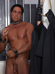 Dreams of getting punished by a hang man end with Marcello getting his big cock sucked