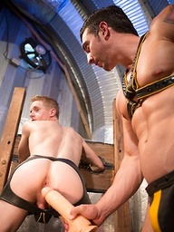 Hole Busters 10 (Scene 3). Jimmy Durano and Liam Harkmoore