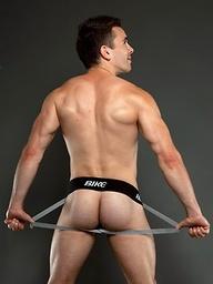 Tim shows off his amazing college jock body