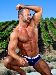 Nate Karlton naked outdoors