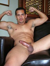 Armando shows latino cock
