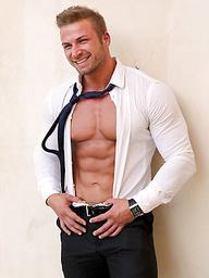 Blond light heavyweight Kane Griffin