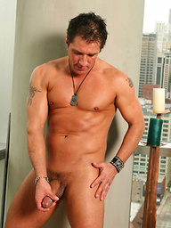 Derek plays with his dick
