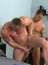 Bastian and Taylor: Studs toying and fucking