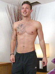 Muscular Tall Tanned Toned Uncut Handsome Blue Eyed & Hung Long & Thickest on Website!